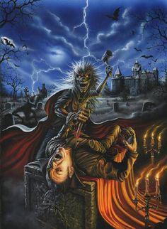 """""""Eddie"""" Iron Maiden"""