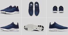 Nike Free Inneva Woven Colour: Fountain Blue/SMMT WHT-MID NVY