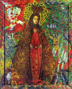 Mother of God of Lichen, Kwiatkowska    http://campus.udayton.edu