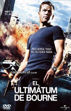 El utlimatum de Bourne (2007). EEUU. Dir: Paul Greengrass.  SIGNATURA: DVD-IN-20.Baseada no personaxe creado por Robert Ludlum. http://kmelot.biblioteca.udc.es/record=b1400816~S1*gag