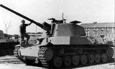 The Imperial Japanese Army produced two Type 4 Chi-To medium-heavy tanks on a trial basis near the end of World War II