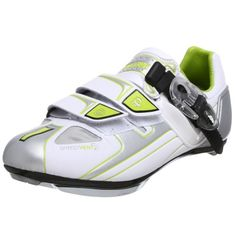 Pearl iZUMi Women's P.R.O. RD Cycling Shoe,White/Chrome,37 M EU / US Women's 5.5 M Pearl iZUMi http://www.amazon.com/dp/B001AG4U90/ref=cm_sw_r_pi_dp_OGyNtb1TT6B1GM5A