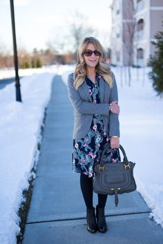 What I Wore to Work Weekly Linkup #96: Flounce Shirtdress • Mix & Match Fashion