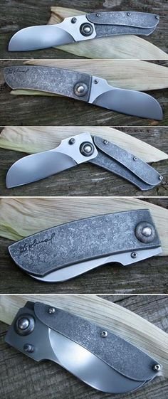 Friction folder - elmax blade and handle of a N690