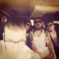 On this day 1 year ago photo #Zachmyers #Brentsmith #Barrykerch #ericbass #Shinedown - facebook.com/ShinedownsNation