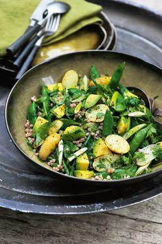 Buckwheat and Potato Salad   Pascale Naessens