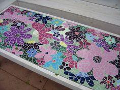 Mozaiek tafeltje