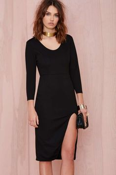 Glamorous Islina Midi Dress | Shop Midi + Maxi at Nasty Gal