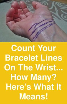 The horizontal or curved lines that separate the palm of the hand and the rest of the arm are the bracelet wrist lines that are also known as Rascette lines. These lines can have several meanings … Health And Nutrition, Health Tips, Health And Wellness, Health And Beauty, Health Fitness, Feng Shui, Tarot, Palmistry, Health Remedies