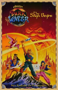 The Pirates of Dark Water: Oh, what a crush I had on Ren!