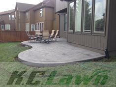 K.C. Lawn & Landscaping, Inc. Decorative Concrete. Call 816-741-2035 for a quote today, or visit www.kclawnlandscaping.com.