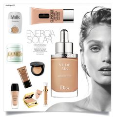 """""""Energia Solar..."""" by katelyn999 ❤ liked on Polyvore featuring beauty, MILK MAKEUP, Clinique, Christian Dior, Bobbi Brown Cosmetics, Elizabeth Arden, Magdalena, Guerlain, La Mer and NYX"""