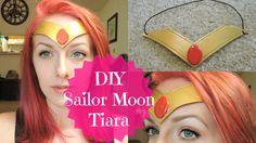 DIY Sailor Moon Tiara / Headband   Super Cheap & Easy