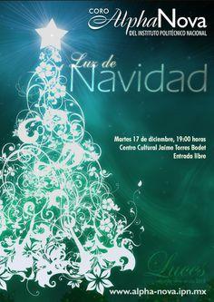 Luz de Navidad Tradicional Concierto de Navidad Martes 17 de diciembre, 19:00 horas  Centro Cultural Jaime Torres Bodet, Zacatenco