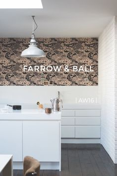 The AW16 wallpaper collection from Farrow & Ball on @stellerstories