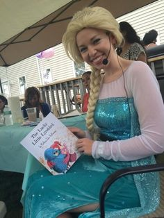#Elsa From #Frozen loved The Lucky Little Lyrebird! Make sure your Kid's do too!