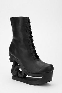 """I love ridiculous Jeffrey Campbell shoes. """"Kristi Yamaguchi's preferred off-ice footwear."""""""