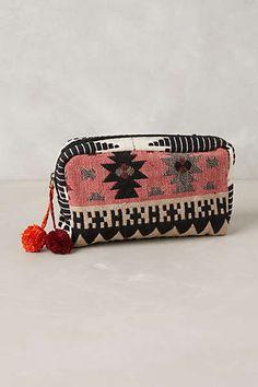 Ocllo Woven Cosmetic Bag