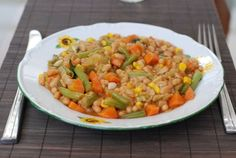 dusená čínska kapusta Ratatouille, Salsa, Vegetables, Ethnic Recipes, Food Ideas, Vegetable Recipes, Salsa Music, Veggies