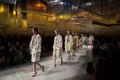 OMA-AMO-rem-koolhaas-prada-women's-spring-summer-2016-indefinite-hangar-designgallerist-architecture #deisngarchitecture #prada #omaamo #design #architecture See More: http://designgallerist.com/blog/amo-sets-the-stage-for-pradas-ss16-womens-show/