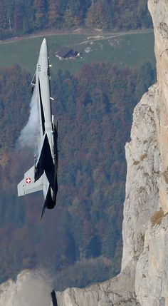 F/A-18 Hornet at Axalp Air Show, Swiss Air Force