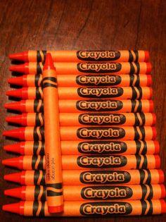 Crayola Crayons 24 Pack Of Red Orange Tangerine Color, Orange Color, Orange Orange, Colour, Orange You Glad, Orange Is The New, Indian Flag Photos, Red Crayon, Orange Fruit