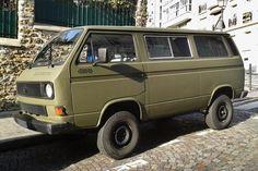 Pour ce jeudi sur #BonjourLaVieille, un #Volkswagen #Transporter #T3 #Syncro