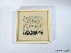 1930s Spring Childs Illustration by Nora Schnitzler