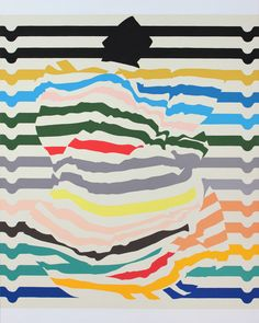 Disrupted stripes | Pattern