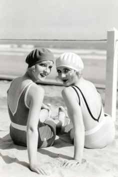 Flapper Style on the Beach