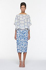 DVF- great look, combo or pattern and silo..