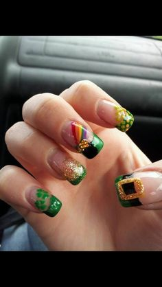 St party's nails