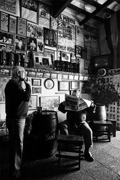 A small Sherry bar in Jerez de la Frontera.