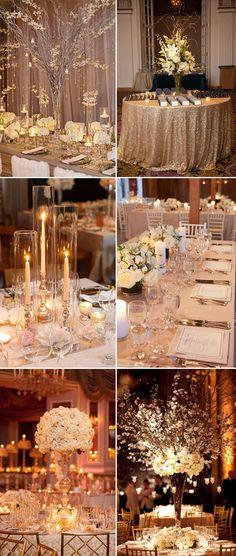 2017 elegant wedding centerpieces ideas