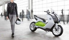 BMW Concept e Scooter 2014 Motorcycles Desktop HD Wallpaper