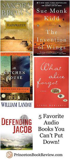 5 Favorite Audio Books!