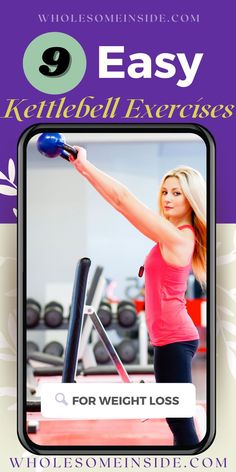 Who says a workout must be hard and complicated? 🙅 Try 9 EASY kettlebell exercises to burn belly fats and tone muscles fast! 🔥 Suitable for everyone from beginners, women, to you who's stuck at home! 👉 CLICK ON THE LINK to watch step by step videos! 👈 Best Workout Plan, Workout Plan For Beginners, At Home Workout Plan, Fun Workouts, At Home Workouts, Flat Tummy Tips, Strength Training Women, Lose Body Fat, Burn Belly Fat