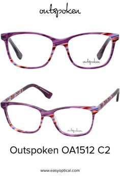 OUTSPOKEN OA1512 C2 Eyewear, Glasses, Easy, Handmade, Eyeglasses, Eyeglasses, Hand Made, General Eyewear, Sunglasses