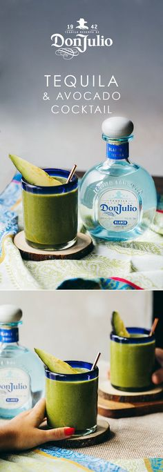 Gracias for avocados which are still in season during the holidays – in Mexico at least. Try our festive Don Julio Blanco cocktail, the Jalisco Aguacate. Add ½ fresh avocado to a cocktail shaker and gently muddle. Add 1.5 OZ of Don Julio Blanco, 0.5 OZ fresh lime juice, 1 OZ fresh mango juice and a pinch of sea salt to the cocktail shaker. Shake vigorously for 15 seconds, then strain the drink over a fine strainer into a 10 OZ rocks glass. Garnish with an avocado slice and sea salt flakes.