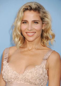 Pin for Later: 22 Blonde Bobs and Lobs to Inspire Your Summer Haircut Elsa Pataky