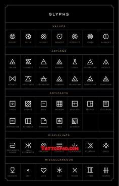 glyph tattoo, finger tattoos and glyphs. #tattoo #tattoos #ink