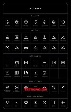glyph tattoo, finger tattoos and glyphs. #tattoo #tattoos #ink