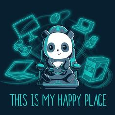 I am this panda Cute Cartoon Drawings, Cute Animal Drawings, Kawaii Drawings, Panda Wallpapers, Cute Wallpapers, Anime Animals, Cute Animals, Images Kawaii, Panda Drawing