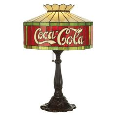 "Meyda Tiffany Coca-Cola 24.5"" Table Lamp"