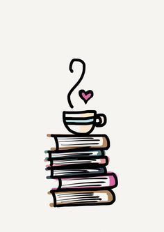 Books and Coffee iPhone Case Book Wallpaper, Wallpaper Iphone Cute, Cute Cartoon Wallpapers, Pretty Wallpapers, Journaling, Photography Supplies, Coffee Drawing, Iphone Icon, More Followers