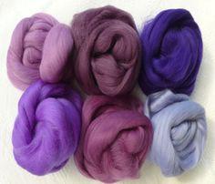 Merino Wool Tops Multi Mauves