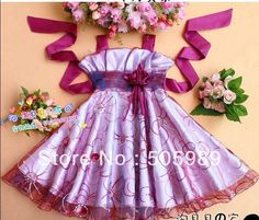 free shipping New Arrival Girl dress Cute girl princess party Dress multi color children dress for the girl 3-8 Years