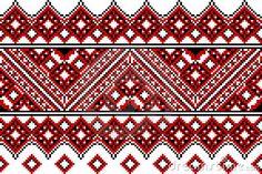 Ukrainian embroidery ethnic by Tankas, via Dreamstime