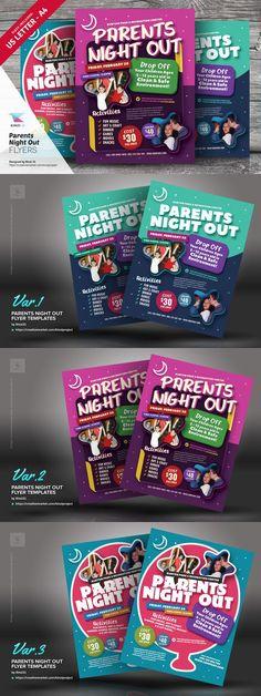 parent flyer templates