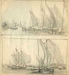 A Sketchbook of the Czech Artist T. Easy Drawings, Sketchbooks, Art Tutorials, Watercolor, Landscape, Artist, Delicate, Outdoor, Ideas